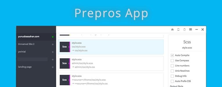 Başarılı Bir Yazılım Prepros App
