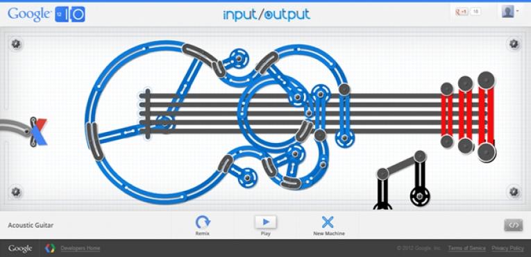 Google Input / Output İle Mükemmel Fizik Motoru