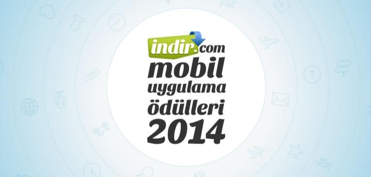 indir.com Mobil Uygulama Ödülleri 2014
