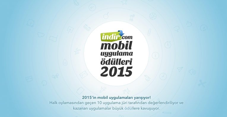 indir.com Mobil Uygulama Ödülleri 2015