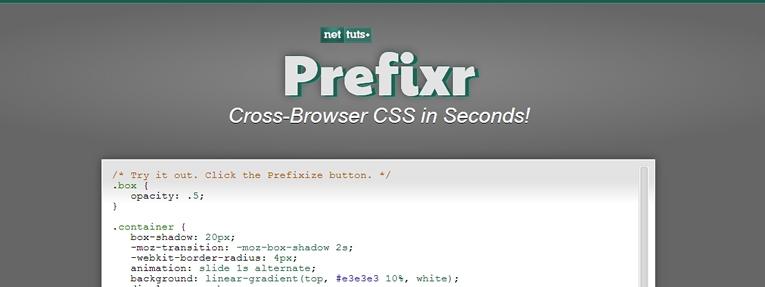 Prefixr İle Css inizi Optimize Edin!