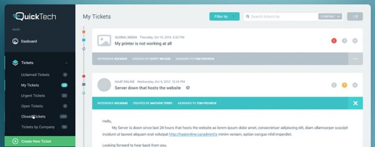 Seçtiğim 10 Flat Admin Panel - App Tasarımı