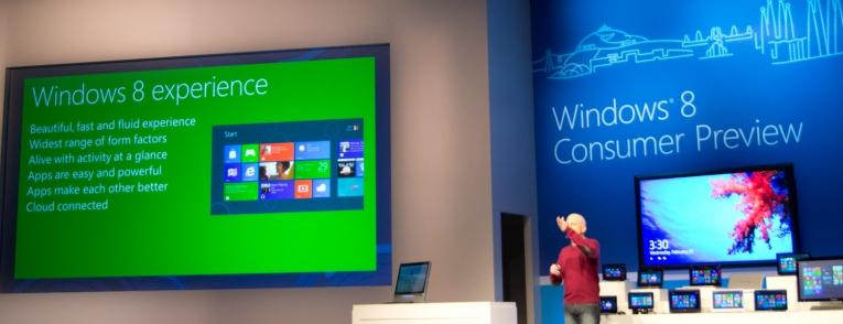 Windows 8 Tüketici Önizleme Sürümü Nihayet Çıktı