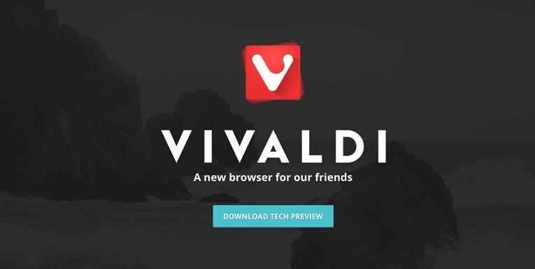 Yeni Bir Tarayıcı: Vivaldi